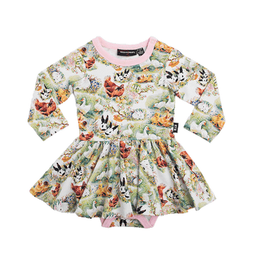 FREE RANGE BABY WAISTED DRESS