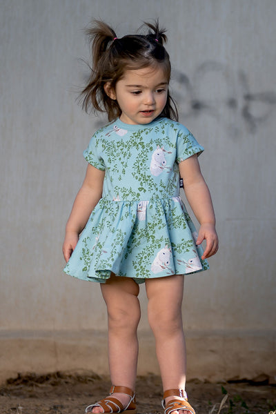 WILD PONY BABY WAISTED DRESS