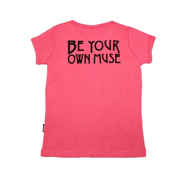 BE YOUR OWN MUSE SS T-SHIRT