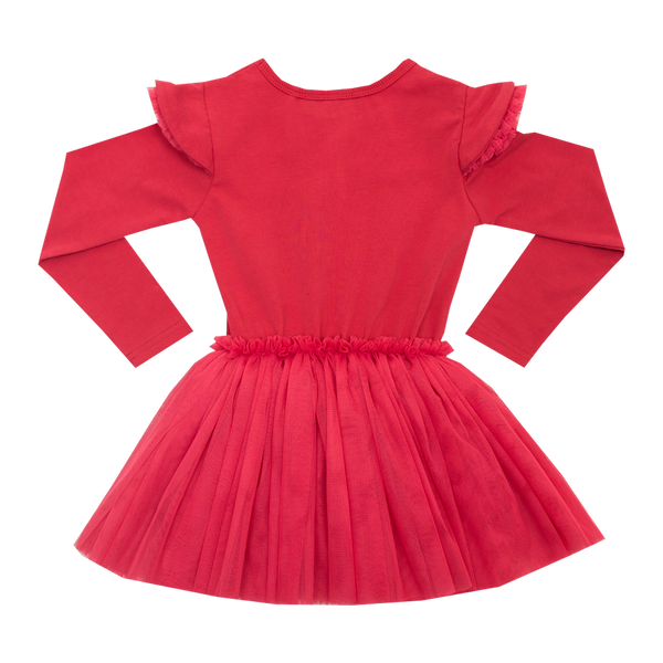 LITTLE RED CIRCUS DRESS