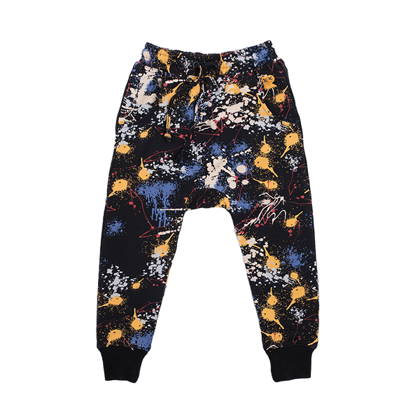 PAINT SPLATTER TRACK PANTS