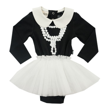 COCO BABY CIRCUS DRESS BLACK