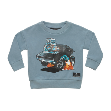 HOT ROD BABY SWEATSHIRT