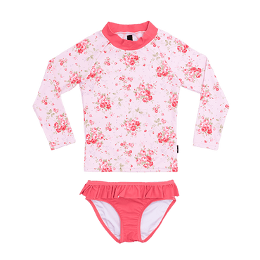 SUMMER ROSE RASHIE SET