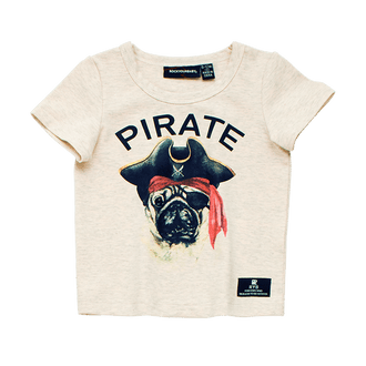 PIRATE PUG BABY T-SHIRT