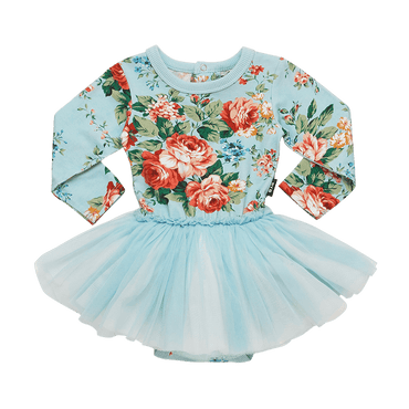 FRENCH FLORAL BABY CIRCUS DRESS