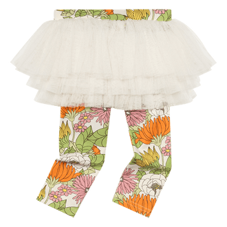 70'S FLORAL BABY CIRCUS TIGHTS