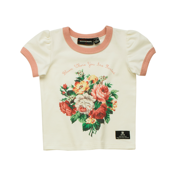 FRENCH BLOOM BABY T-SHIRT