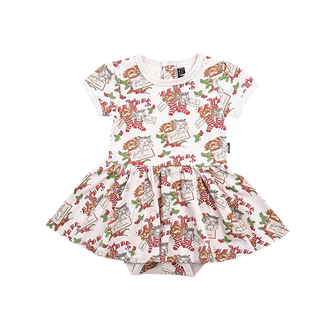 BEST WISHES BABY WAISTED DRESS