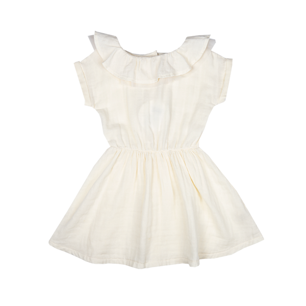 LYLAH COLLAR DRESS (ORGANIC)