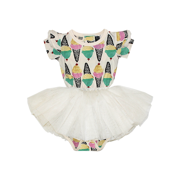 ICE CREAM BABY CIRCUS DRESS