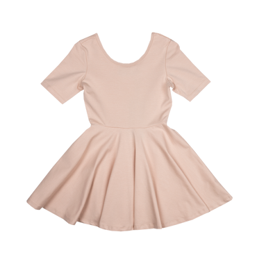 Latte Mabel Leotard Dress