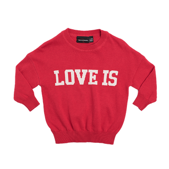LOVE IS BABY KNIT PULLOVER