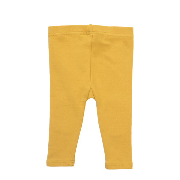MUSTARD KNEE PATCH BABY TIGHTS