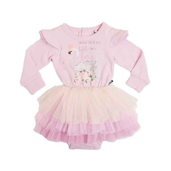 ODETTE FIERCE TIERED BABY CIRCUS DRESS
