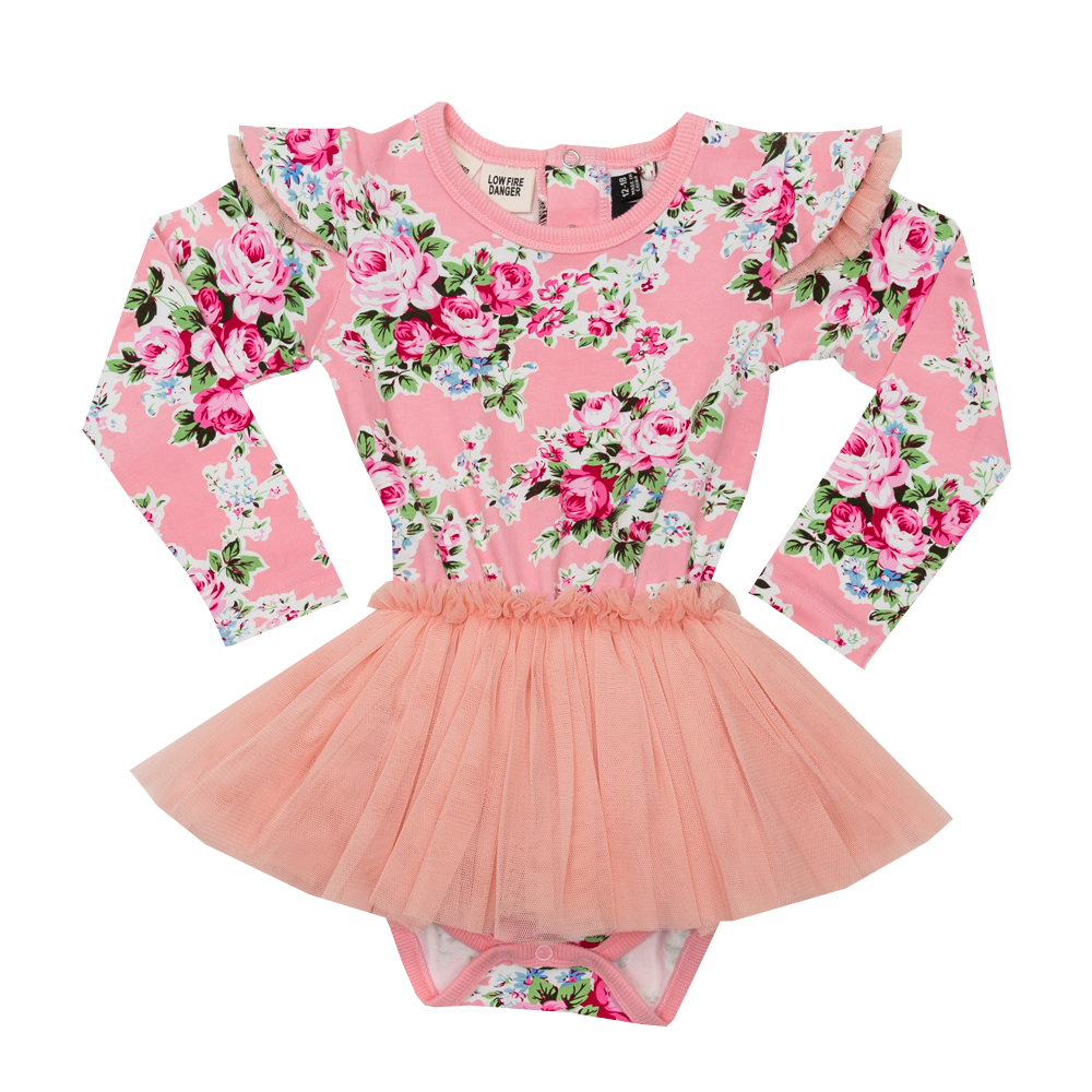 Pink Maeve Long Sleeve Baby Circus Dress – Rock Your Baby