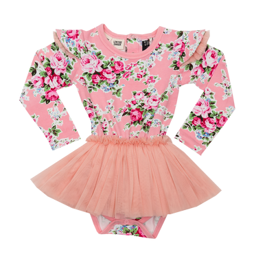 Pink Maeve Long Sleeve Baby Circus Dress