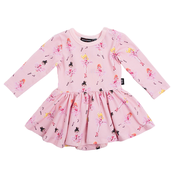 PIROUETTE BABY WAISTED DRESS
