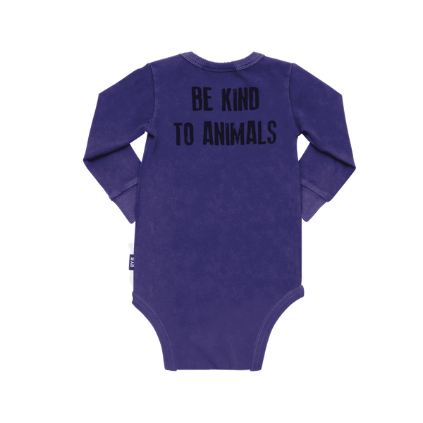 BE KIND TO ANIMALS BODYSUIT