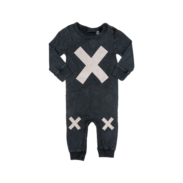 X MARKS THE SPOT PLAYSUIT