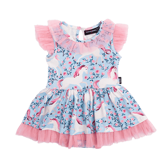 FIELD OF DREAMS BABY WAISTED DRESS