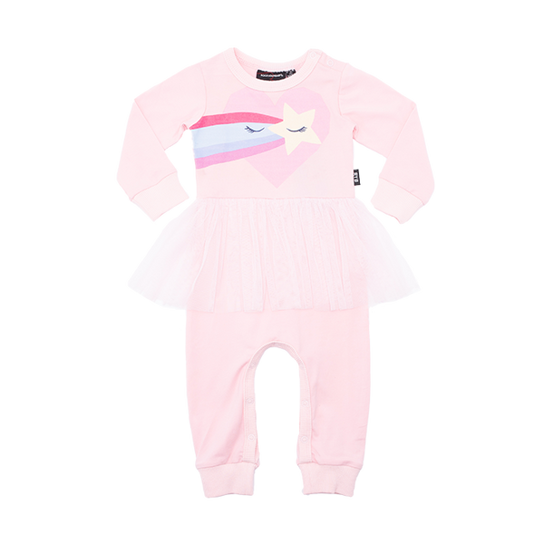 LET YOUR LOVE IN BABY PLAYSUIT