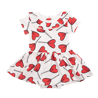 LITTLE SWEETIE SS BABY WAISTED DRESS