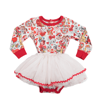 MY FUNNY VALENTINE BABY CIRCUS DRESS