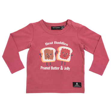 PEANUT BUTTER & JELLY BABY T-SHIRT