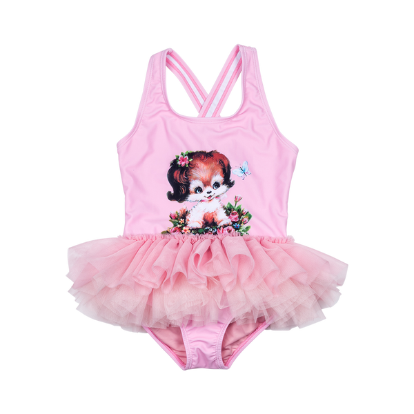 PUPPY LOVE TULLE ONE PIECE