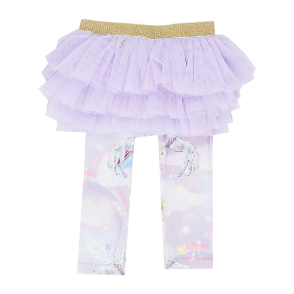PURPLE RAIN BABY CIRCUS TIGHTS