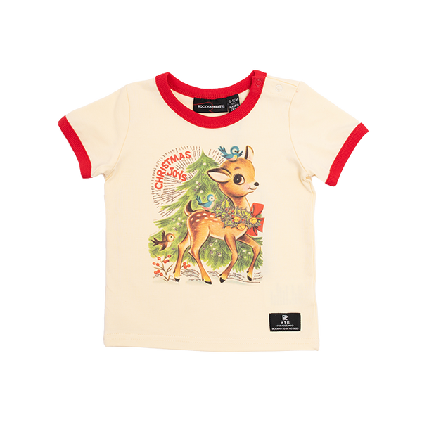 REINDEER JOY BABY T-SHIRT