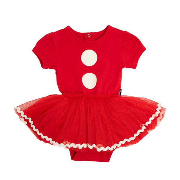 SANTA BABY (MRS CLAUSE) BABY CIRCUS DRESS