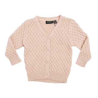 OATMEAL VINTAGE BABY CARDIGAN