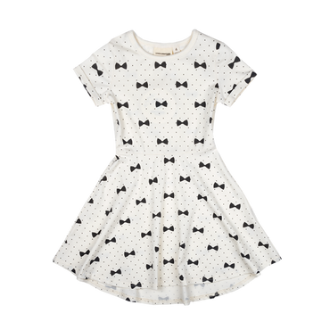 BOWS WAISTED DRESS (ORGANIC)