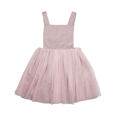 PINK PINAFORE DRESS (ORGANIC)