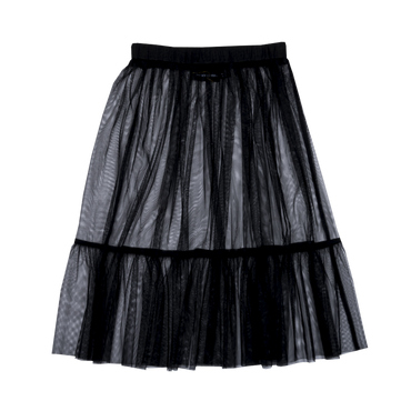 BLACK LEOTARD TULLE SKIRT