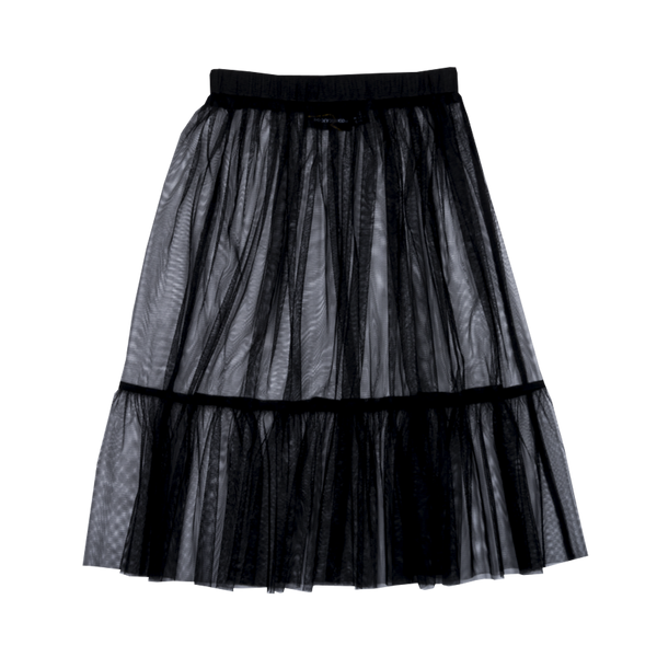 LEOTARD TULLE SKIRT