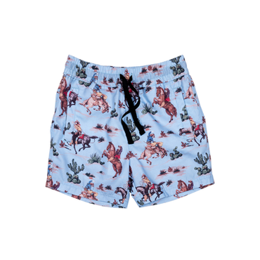 WILD WEST BOARD SHORTS - WEST WORLD