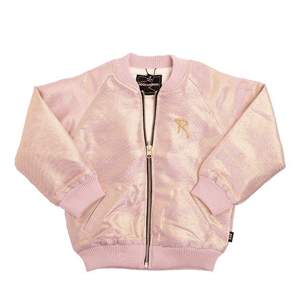 LIGHT GOLD/PINK SHIMMER JACKET