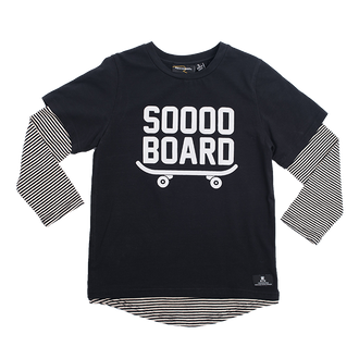 SOOO BOARD LS T-SHIRT