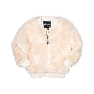 CREAM STEVIE BOMBER JACKET