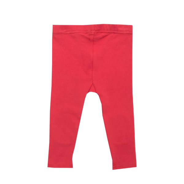 Red Knee Patch Baby Tights