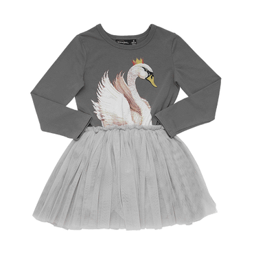 GREY SWAN LAKE CIRCUS DRESS