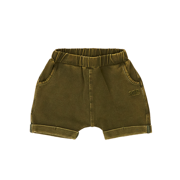 KHAKI SMASH BABY SHORTS