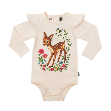 Story Book Long Sleeve Bodysuit