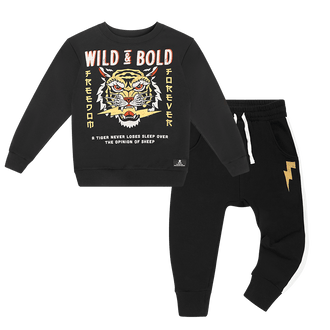 WILD AND BOLD TRACKSUIT SET
