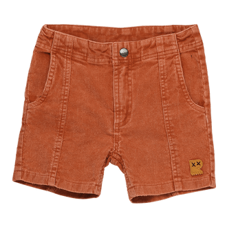 WASHED RUST CORDUROY - SHORTS
