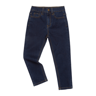 RAW BLUE DENIM JEANS