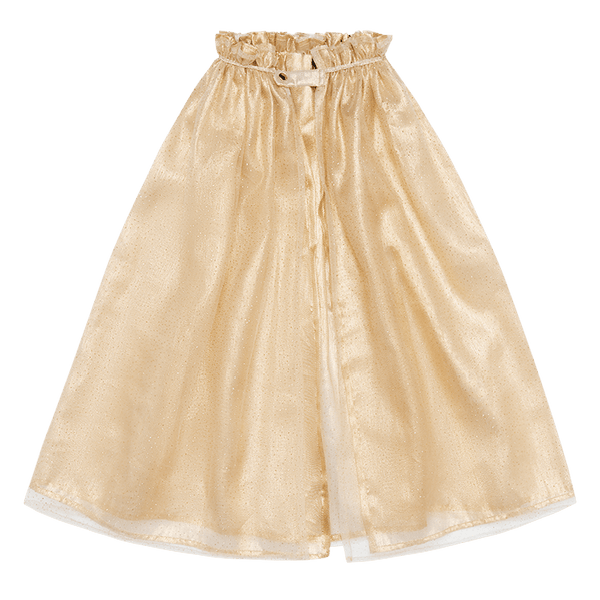 GOLD TULLE CAPE